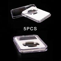 1oz Silver Britannia Coin Holder Storage Box RED 100 2½ x 2½  Flip Case 39mm