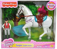 Fisher-Price Loving Family Riding Series, Sugar the English Horse New in Package