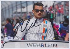 PASCAL WEHRLEIN 1 Manor Mercedes Foto 13x18 signiert IN PERSON Autogramm signed