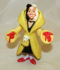 Disney Villain 101 Dalmatians Cruella DeVil DeVille Figure Figurine Cake Topper