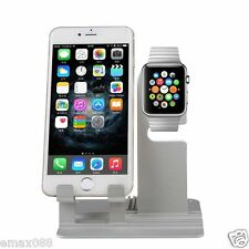 Aluminum Charger Stand Holder Charging Docking Station For Apple Watch iWatch