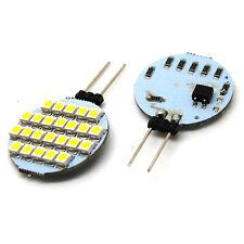 2p G4 LED 24 5050 SMD Marine Camper Boat Spot Light Bulb Lamp 12V Pure White New