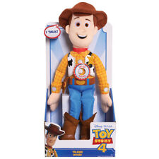"Toy Story 4 Talking Woody Plush Toy 13"" Disney Pixar"