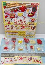Dollhouse Miniatures Neco Cat Kitchen Food 6pcs + Display Card - Epoch Gashapon