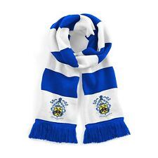 Huddersfield Town Traditional 1950's Football Scarf Embroidered Logo