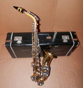Vintage Evette Schaeffer Alto Sax Saxophone ! Yamaha Mouthpiece Included!