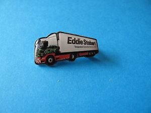 Eddie Stobart Truck / Lorry lapel badge, VGC. Unused.