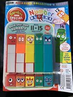 Numberblocks Cbeebies magazine 1-5 Numberblocks And Build 11-15 🤗🤩🤩🤩