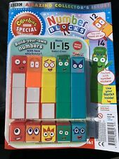 Numberblocks Cbeebies magazine 11-15, Build Your Own Numbers 1-5 Too!