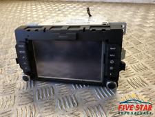 2015 Kia Rio 1.4 CVVT Petrol Radio GPS Navigation Head Unit 96560-1W520