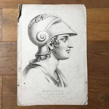 Gravure PAUL-EMILE 1er Empire Début XIXè 19thC Antique French Etching