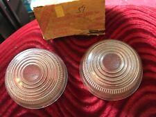 NORS 1950 Mercury Glass Parking Park Lamp Lens 50 Merc Grill Light PL654
