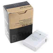 EN-EL14a el-14a Camera Battery batteries for Nikon DF P7100 P7700 P7800 P7000