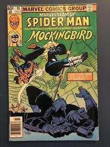 Marvel Team-Up #95, Spider-Man & Mockingbird 1980 Marvel Comics. 1st Appearance