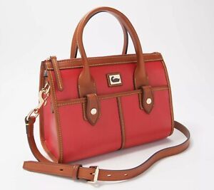 Dooney & Bourke Camden Saffiano Small Satchel - Red n9137