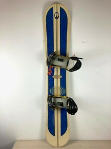 Winterstick All Mountain Snowboard + Ride Bindings - 1990s Vintage - Made In USA