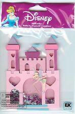 Disney Ek Success Castle w/Tinkerbell Shaker Box nip Scrapbook Craft
