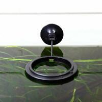 1PCS Aquarium Fish Tank Feeding Ring Floating Food Tray New E8C1