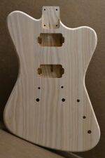 MADE TO ORDER NR Unfinished Guitar Body Ash Fits Stratocaster Neck