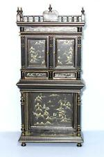 HANSSON ORIENTAL BOOKCASE HAND DECORATED CA03202  MINIATURE DOLL HOUSE FURNITURE