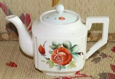 Vintage Chinese Coloured drawing Porcelain Teapot