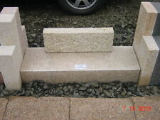 Granit Randsteine Palisaden Blockstufen Granitblock Granitblöcke Padang Platten