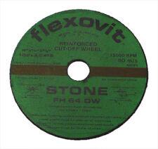 6 X STONE CUT OFF DISCS 100 X 3.2  X 16