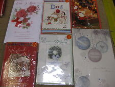 300 MIXED CHRISTMAS CARDS TOP QUALITY ALL SIZES WHOLESALE JOB LOTS HALLMARK