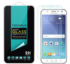 TechFilm® Tempered Glass Screen Protector Saver Shield For Samsung Galaxy J7