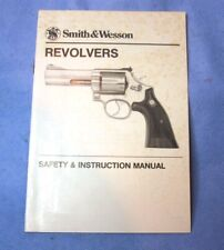 Original Smith & Wesson Owners Manual S&W 13 15 17 19 27 28 29 36 49 585 686