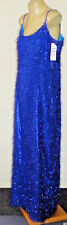 "IDC Blue12%MetallicBlend""Feather""PartyMaxi SizeL NWT rrp$159"