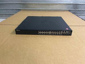 Dell Networking N3024P 24x 10/100/100 Gigabit POE Switch w/ 1x PSU