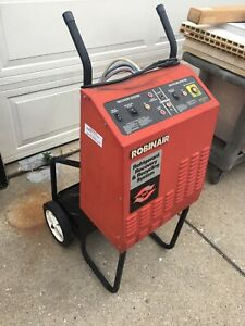 Robinair 17400A AC  R12  Air Conditioning Machine Recovery Recycle System