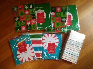 70   NEW,  Hallmark Inspirations Christmas Gift Bags,  Assorted Prints, 3 Sizes