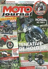 MOTO JOURNAL N°2001 KTM ADVENTURE 1290 / YPERMOCARTD 1200 / RC8R CRACK / NC 700S