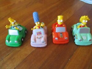 RED Rooster Simpsons in cars 2003 x 4