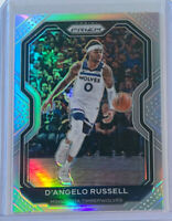 2020-21  PANINI PRIZM D'angelo Russell Silver Prizm SP #95