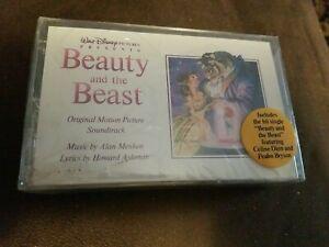 1991 DISNEY BEAUTY AND THE BEAST CASSETTE - ORIGINAL SOUNDTRACK - CELINE DION