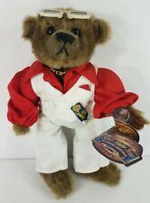 "NWT Pickford Brass Button Bears 1970s Disco Themed Nick brown 11.5"" teddy bear"