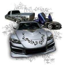 VEHICLE GRAPHIC RACING VECTOR CLIP ART FOR VINYL CUTTER