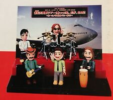 FLY! JAL! Airlines advertising Southern All Stars figures on stage