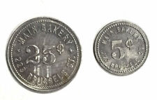 Main Bakery 223 Brussels St. Token Collection Lot (2 Pieces)