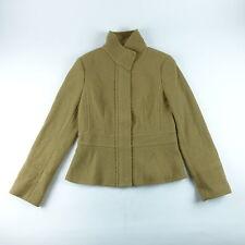 Banana Republic Women's Jacket Peplum Coat Blazer Tipo Camel Size S