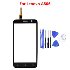 For Lenovo A806 Premium Front Touch Screen Digitizer Sensor Glass Panel black