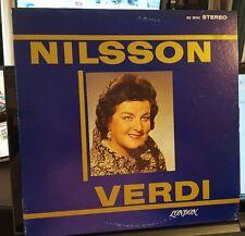London OS 25742 Nilsson Verdi ffrr NM/VG+