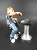 Pokerspieler Kartenspieler Player Beruf Funny Figur Kollektion 2 ltg.