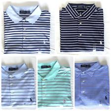 Men's Polo Ralph Lauren Big & Tall Striped Polo Shirt Soft Touch 1XB 2XB 4XB New