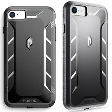 For iPhone 7 / iPhone 8 Case [360° Protective] Premium Shockproof Cover Black