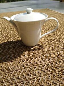 Crate & Barrel  White Aura Rene Ozorio Tea Pot Kettle HARD 2:FIND! 1 on ebay