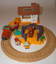 GeoTrax Rope 'n Ride Ranch Complete Set L3136